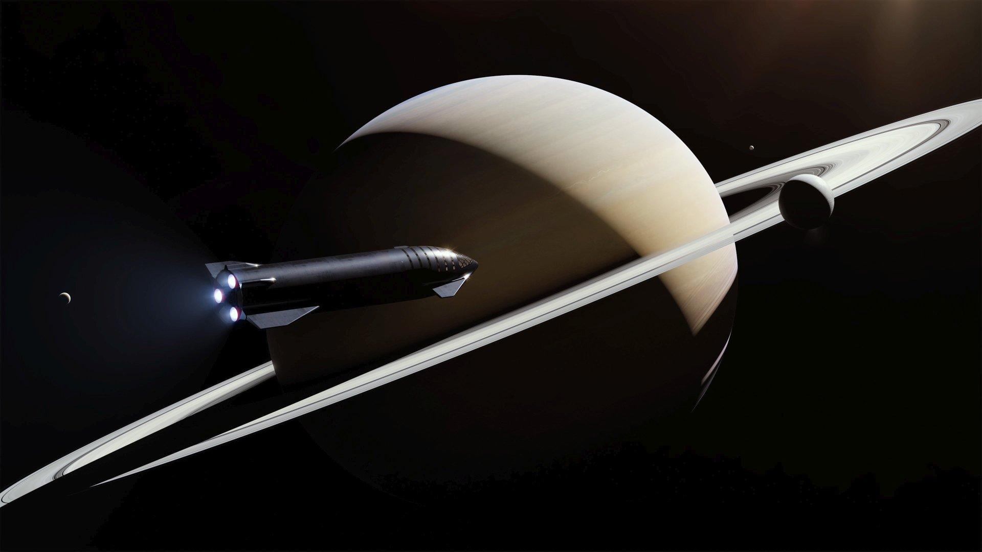 土星とStarship