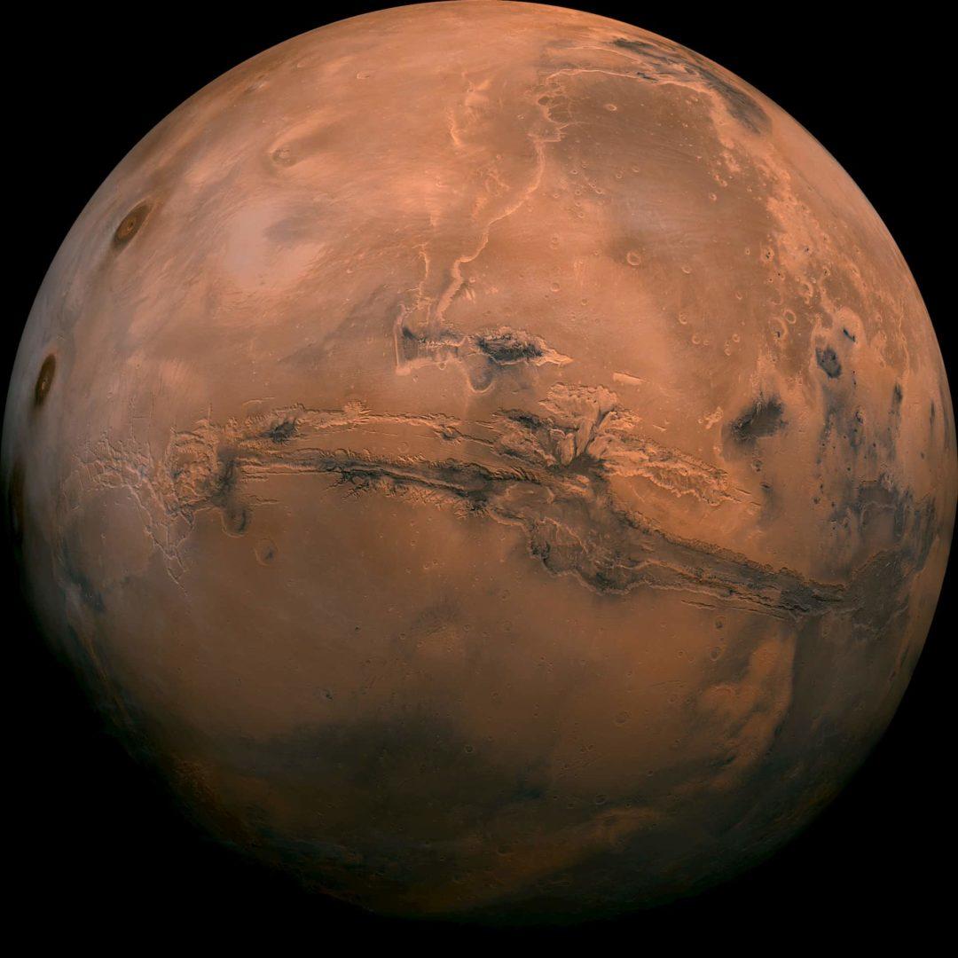 バイキング1号が撮影した火星