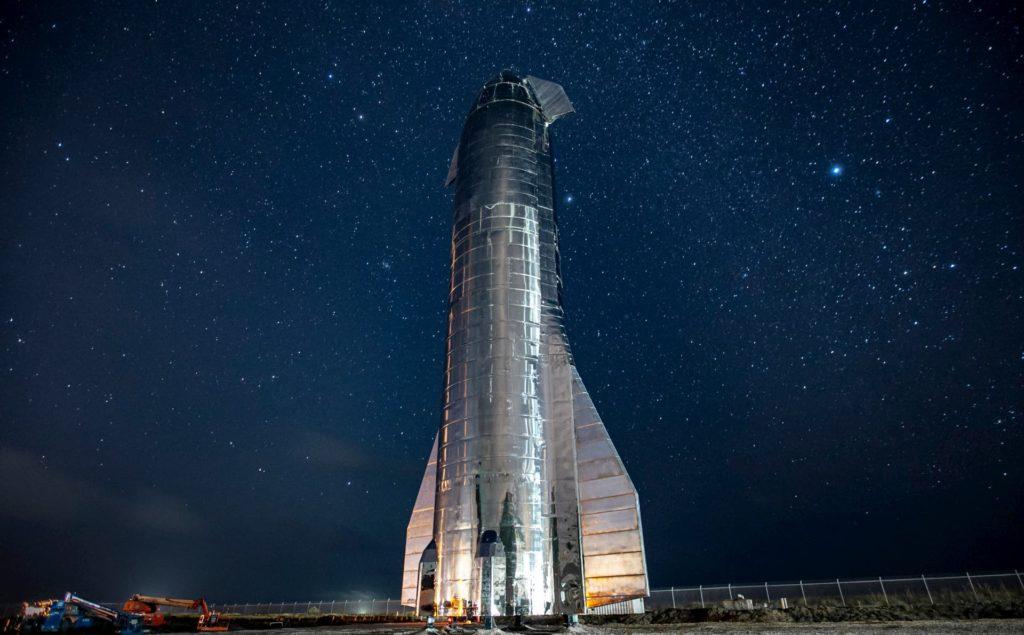 Starship MK1 と星空
